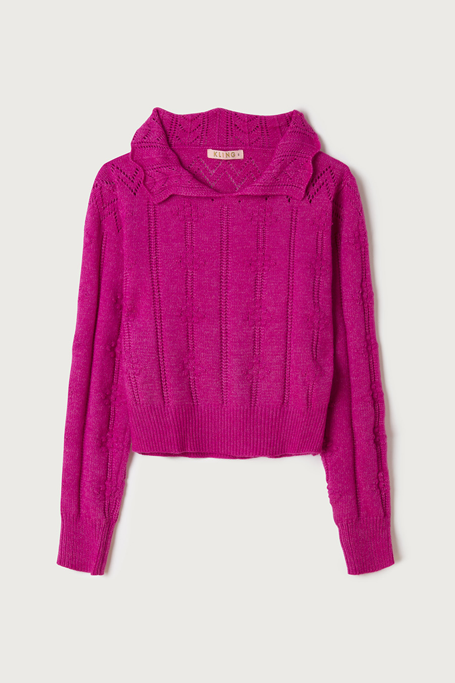 Jersey Relieve Fucsia